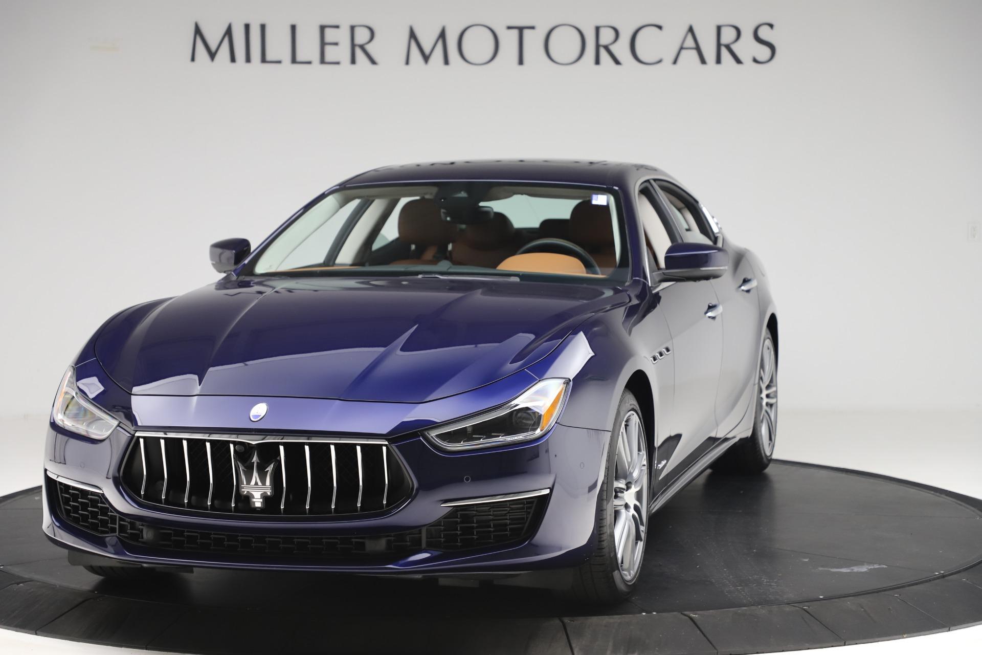 New 2020 Maserati Ghibli S Q4 GranLusso for sale $89,535 at Alfa Romeo of Westport in Westport CT 06880 1