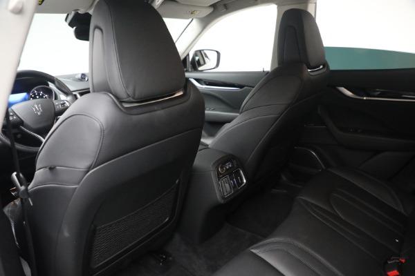 New 2020 Maserati Levante Q4 GranSport for sale $81,385 at Alfa Romeo of Westport in Westport CT 06880 16