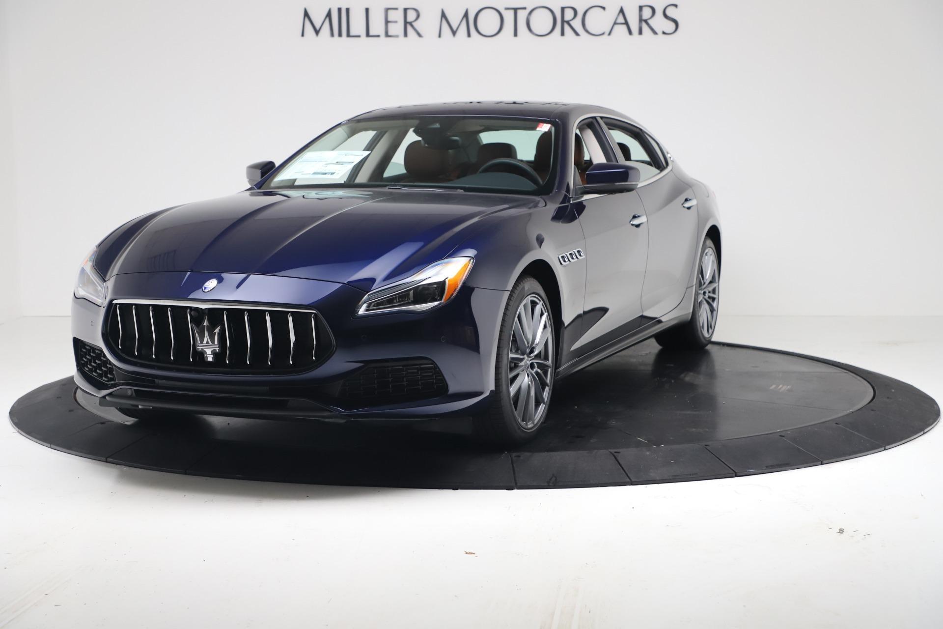New 2020 Maserati Quattroporte S Q4 GranLusso for sale $122,185 at Alfa Romeo of Westport in Westport CT 06880 1