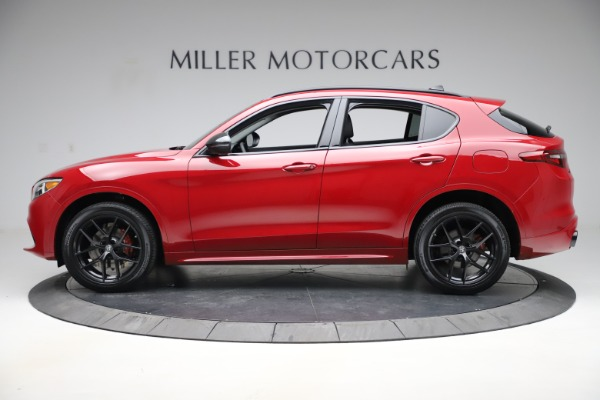 New 2020 Alfa Romeo Stelvio Sport Q4 for sale $50,190 at Alfa Romeo of Westport in Westport CT 06880 3