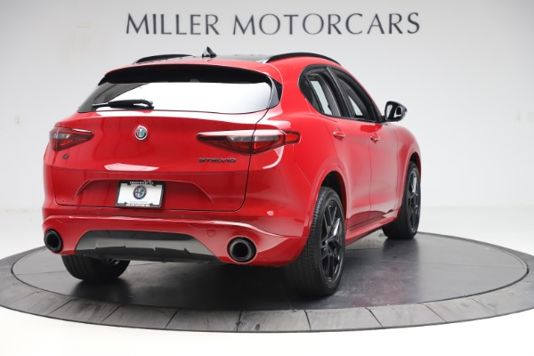 New 2020 Alfa Romeo Stelvio Sport Q4 for sale $50,190 at Alfa Romeo of Westport in Westport CT 06880 7