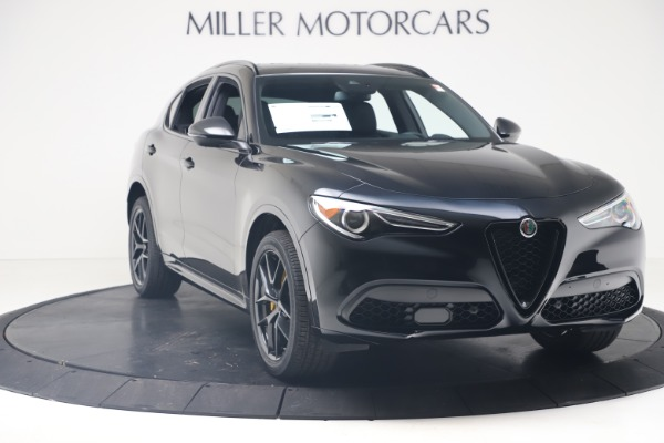 New 2020 Alfa Romeo Stelvio Ti Sport Q4 for sale $57,590 at Alfa Romeo of Westport in Westport CT 06880 11