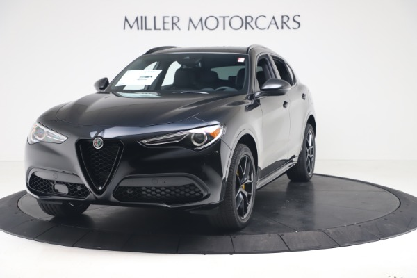 New 2020 Alfa Romeo Stelvio Ti Sport Q4 for sale $57,590 at Alfa Romeo of Westport in Westport CT 06880 1