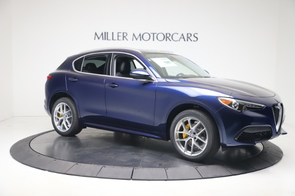 New 2020 Alfa Romeo Stelvio Ti Q4 for sale $54,340 at Alfa Romeo of Westport in Westport CT 06880 10