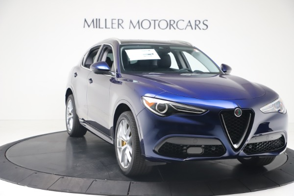 New 2020 Alfa Romeo Stelvio Ti Q4 for sale $54,340 at Alfa Romeo of Westport in Westport CT 06880 11