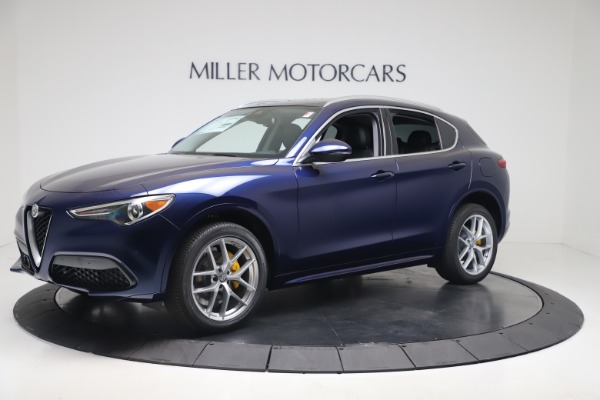 New 2020 Alfa Romeo Stelvio Ti Q4 for sale $54,340 at Alfa Romeo of Westport in Westport CT 06880 2