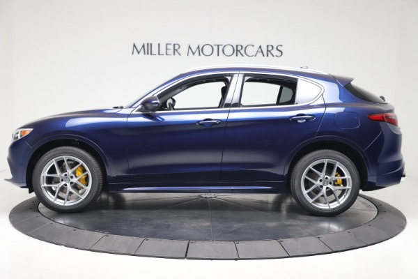 New 2020 Alfa Romeo Stelvio Ti Q4 for sale $54,340 at Alfa Romeo of Westport in Westport CT 06880 3