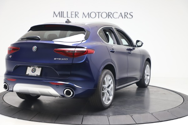 New 2020 Alfa Romeo Stelvio Ti Q4 for sale $54,340 at Alfa Romeo of Westport in Westport CT 06880 7