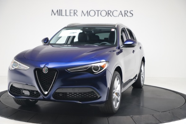 New 2020 Alfa Romeo Stelvio Ti Q4 for sale $54,340 at Alfa Romeo of Westport in Westport CT 06880 1