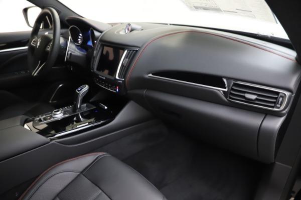 New 2020 Maserati Levante Q4 GranSport for sale $88,885 at Alfa Romeo of Westport in Westport CT 06880 22