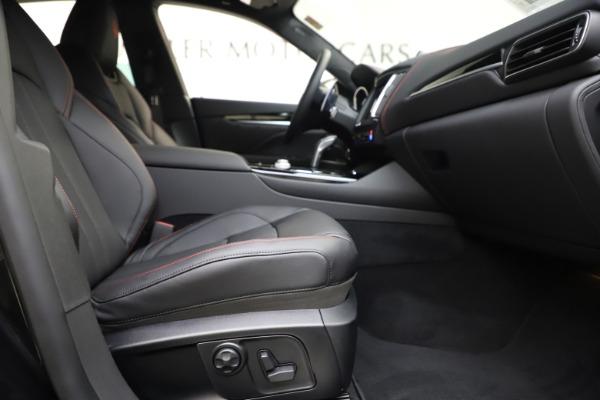 New 2020 Maserati Levante Q4 GranSport for sale $88,885 at Alfa Romeo of Westport in Westport CT 06880 23