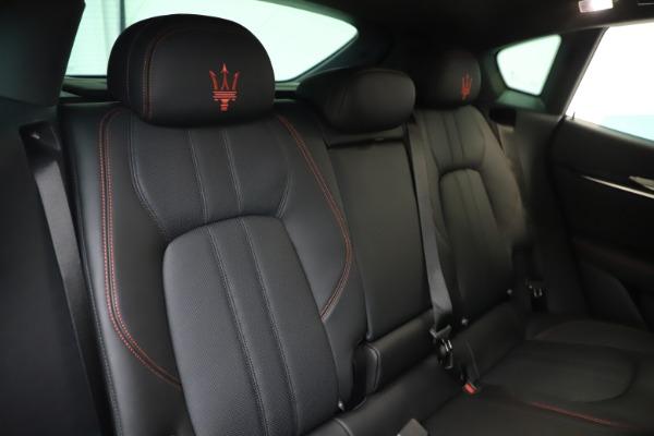 New 2020 Maserati Levante Q4 GranSport for sale $88,885 at Alfa Romeo of Westport in Westport CT 06880 26
