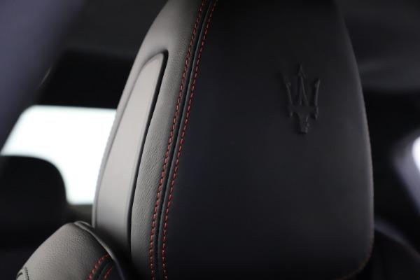 New 2020 Maserati Ghibli S Q4 GranSport for sale $88,285 at Alfa Romeo of Westport in Westport CT 06880 27