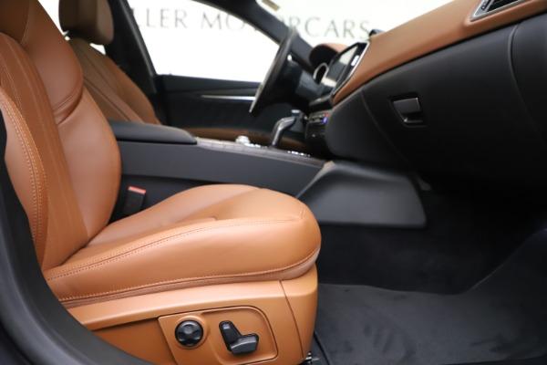 New 2019 Maserati Ghibli S Q4 GranLusso for sale $98,095 at Alfa Romeo of Westport in Westport CT 06880 23