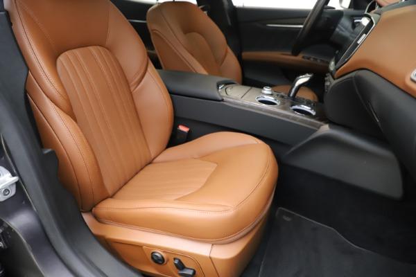 New 2019 Maserati Ghibli S Q4 GranLusso for sale $98,095 at Alfa Romeo of Westport in Westport CT 06880 24