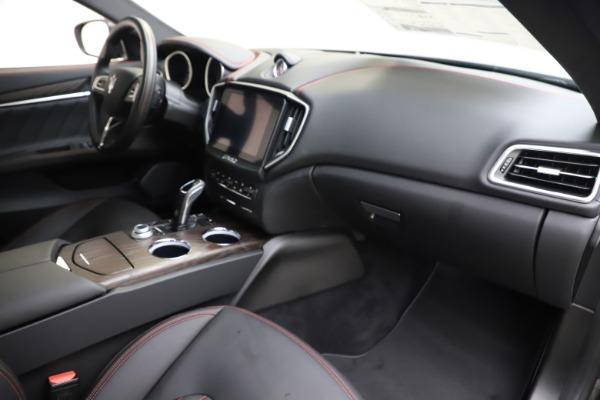 New 2019 Maserati Ghibli S Q4 GranLusso for sale $98,395 at Alfa Romeo of Westport in Westport CT 06880 22