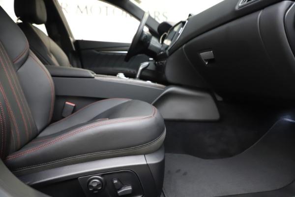 New 2019 Maserati Ghibli S Q4 GranLusso for sale $98,395 at Alfa Romeo of Westport in Westport CT 06880 23