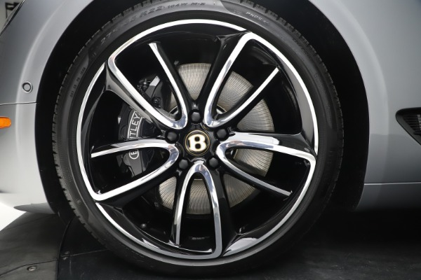New 2020 Bentley Continental GTC W12 First Edition for sale $309,350 at Alfa Romeo of Westport in Westport CT 06880 24