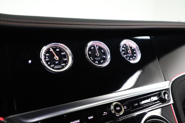 New 2020 Bentley Continental GT W12 for sale $283,305 at Alfa Romeo of Westport in Westport CT 06880 24