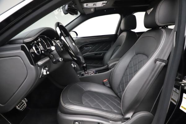 New 2016 Bentley Mulsanne Speed for sale $157,900 at Alfa Romeo of Westport in Westport CT 06880 17