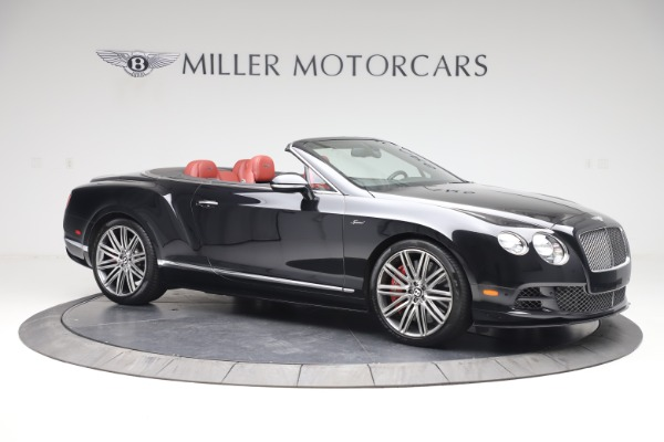 Used 2015 Bentley Continental GTC Speed for sale $138,900 at Alfa Romeo of Westport in Westport CT 06880 11
