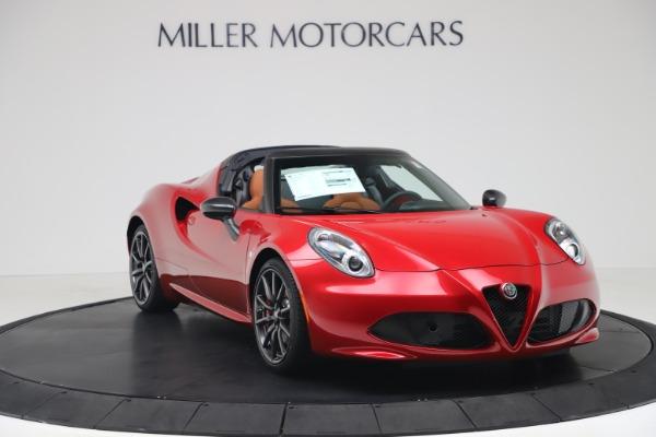 New 2020 Alfa Romeo 4C Spider for sale $82,395 at Alfa Romeo of Westport in Westport CT 06880 11