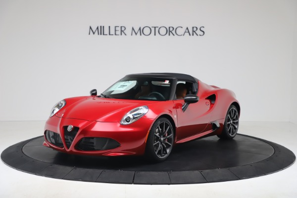 New 2020 Alfa Romeo 4C Spider for sale $82,395 at Alfa Romeo of Westport in Westport CT 06880 13