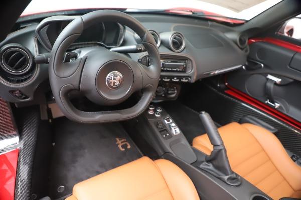 New 2020 Alfa Romeo 4C Spider for sale $82,395 at Alfa Romeo of Westport in Westport CT 06880 19