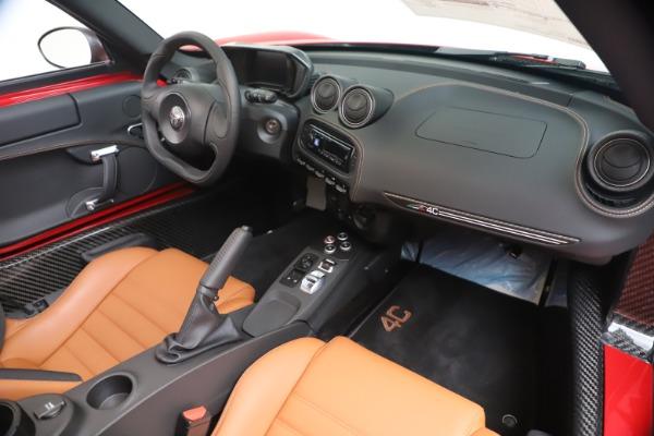 New 2020 Alfa Romeo 4C Spider for sale $82,395 at Alfa Romeo of Westport in Westport CT 06880 23