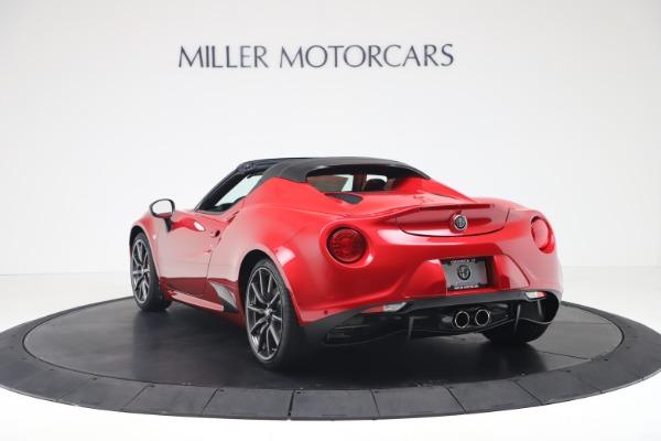 New 2020 Alfa Romeo 4C Spider for sale $82,395 at Alfa Romeo of Westport in Westport CT 06880 5