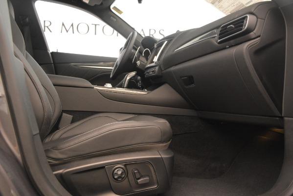 New 2020 Maserati Levante S Q4 GranSport for sale $101,585 at Alfa Romeo of Westport in Westport CT 06880 23