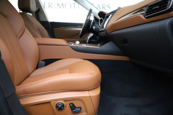 New 2020 Maserati Levante Q4 GranLusso for sale $87,335 at Alfa Romeo of Westport in Westport CT 06880 23