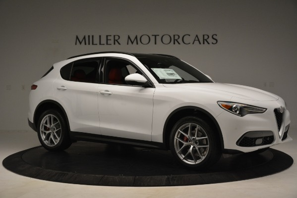 New 2019 Alfa Romeo Stelvio Ti Sport Q4 for sale $54,340 at Alfa Romeo of Westport in Westport CT 06880 10