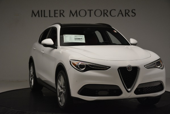 New 2019 Alfa Romeo Stelvio Ti Sport Q4 for sale $54,340 at Alfa Romeo of Westport in Westport CT 06880 11