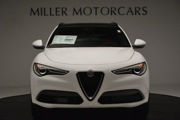 New 2019 Alfa Romeo Stelvio Ti Sport Q4 for sale $54,340 at Alfa Romeo of Westport in Westport CT 06880 12