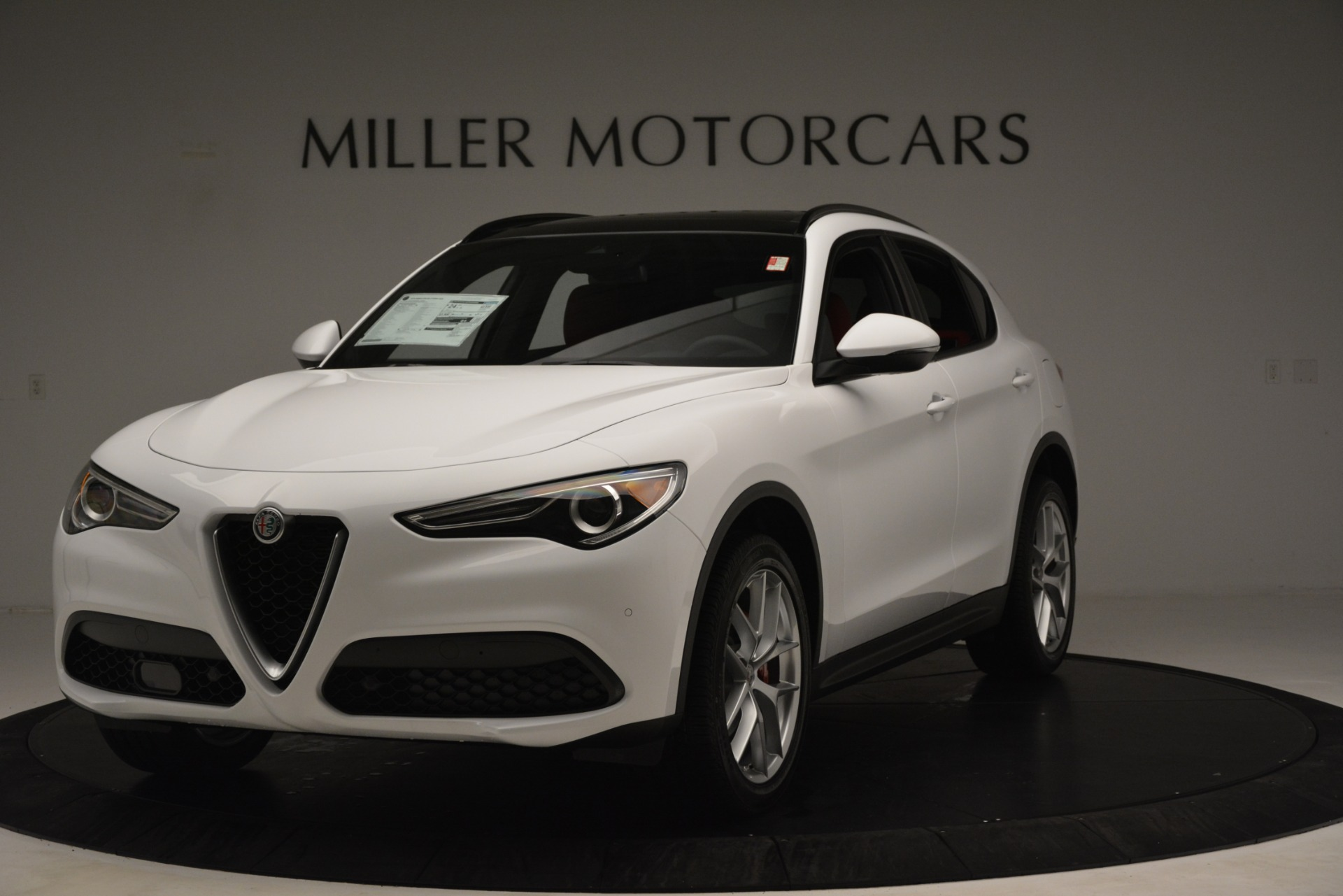 New 2019 Alfa Romeo Stelvio Ti Sport Q4 for sale $54,340 at Alfa Romeo of Westport in Westport CT 06880 1