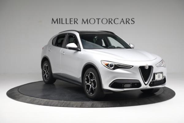 New 2019 Alfa Romeo Stelvio Ti Sport Q4 for sale $52,640 at Alfa Romeo of Westport in Westport CT 06880 11