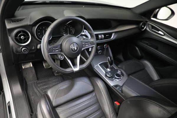 New 2019 Alfa Romeo Stelvio Ti Sport Q4 for sale $52,640 at Alfa Romeo of Westport in Westport CT 06880 13