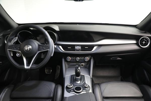 New 2019 Alfa Romeo Stelvio Ti Sport Q4 for sale $52,640 at Alfa Romeo of Westport in Westport CT 06880 16