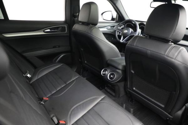 New 2019 Alfa Romeo Stelvio Ti Sport Q4 for sale $52,640 at Alfa Romeo of Westport in Westport CT 06880 20
