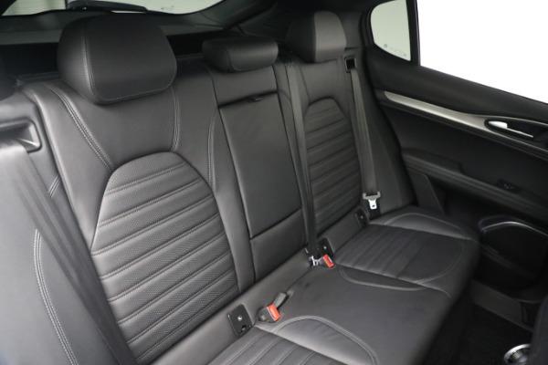 New 2019 Alfa Romeo Stelvio Ti Sport Q4 for sale $52,640 at Alfa Romeo of Westport in Westport CT 06880 22