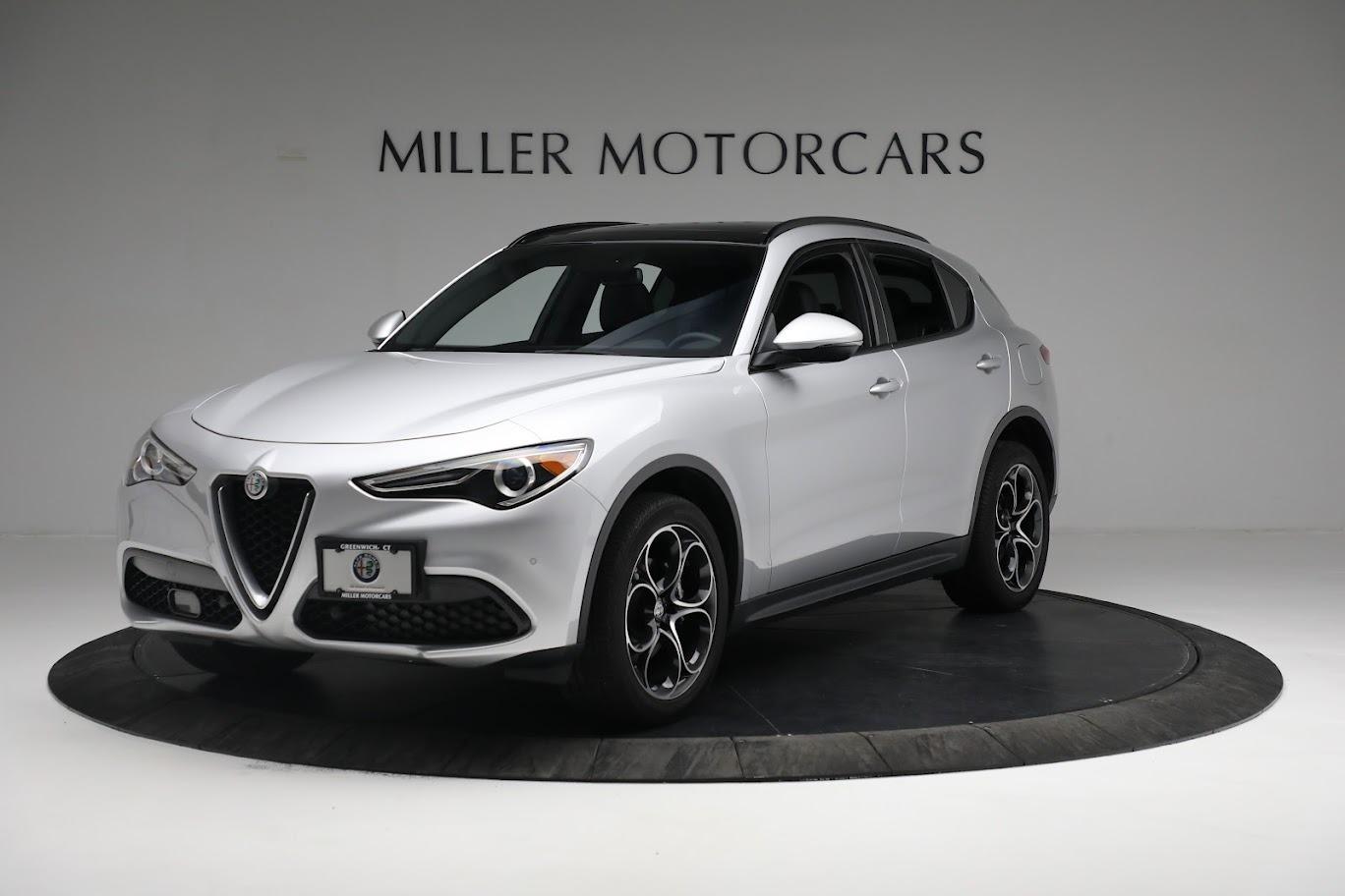 New 2019 Alfa Romeo Stelvio Ti Sport Q4 for sale $52,640 at Alfa Romeo of Westport in Westport CT 06880 1