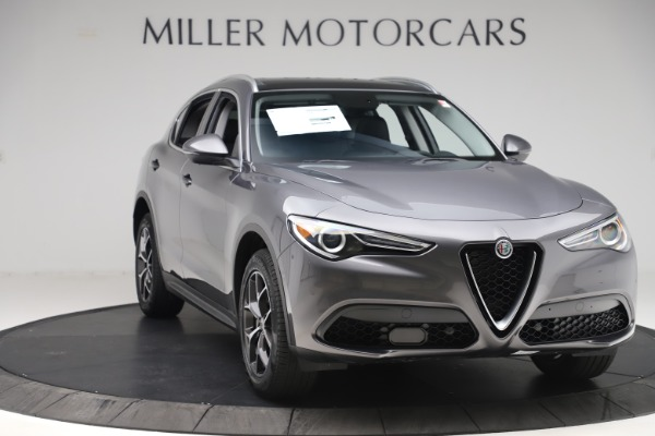 New 2019 Alfa Romeo Stelvio Ti Q4 for sale $51,090 at Alfa Romeo of Westport in Westport CT 06880 11