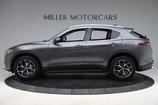 New 2019 Alfa Romeo Stelvio Ti Q4 for sale $51,090 at Alfa Romeo of Westport in Westport CT 06880 3