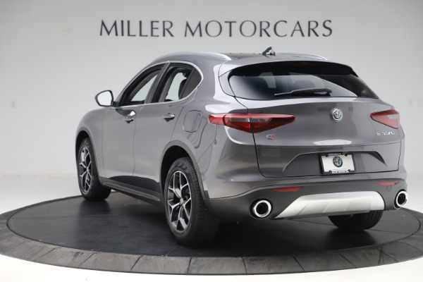 New 2019 Alfa Romeo Stelvio Ti Q4 for sale $51,090 at Alfa Romeo of Westport in Westport CT 06880 5