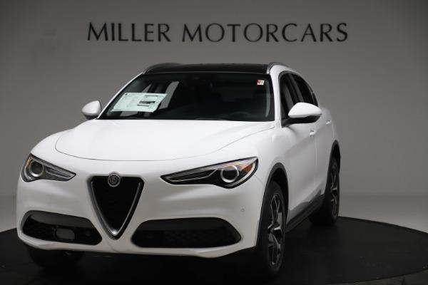 New 2019 Alfa Romeo Stelvio Ti Q4 for sale $51,490 at Alfa Romeo of Westport in Westport CT 06880 1