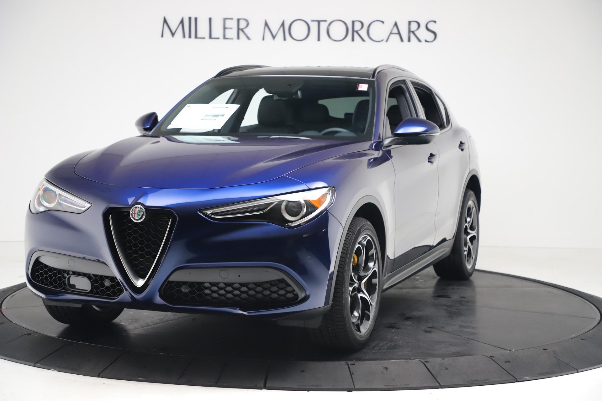 New 2019 Alfa Romeo Stelvio Ti Sport Q4 for sale $53,990 at Alfa Romeo of Westport in Westport CT 06880 1