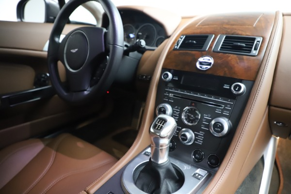 Used 2012 Aston Martin V12 Vantage Coupe for sale $115,900 at Alfa Romeo of Westport in Westport CT 06880 17