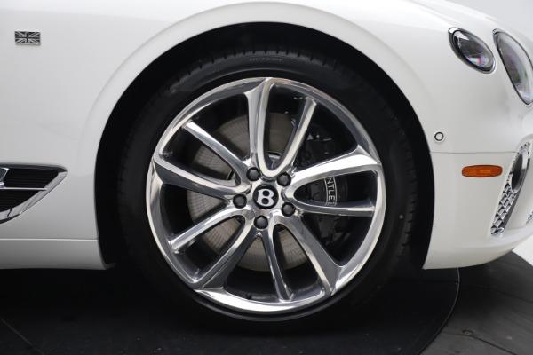 New 2020 Bentley Continental GTC V8 for sale $279,560 at Alfa Romeo of Westport in Westport CT 06880 24