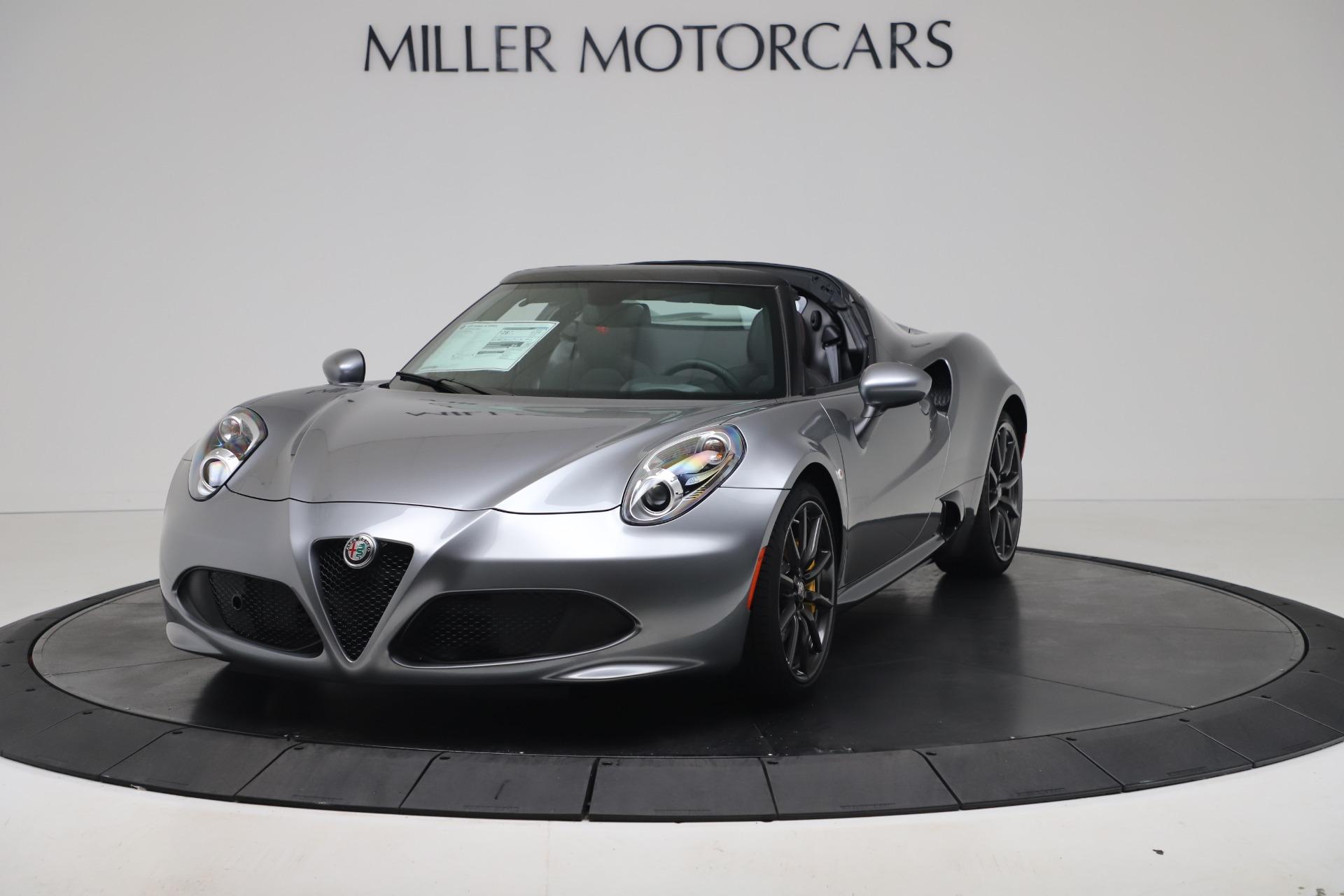 New 2020 Alfa Romeo 4C Spider for sale $78,795 at Alfa Romeo of Westport in Westport CT 06880 1